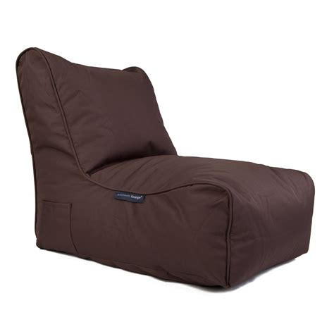 outdoor bean bag sofa outdoor bean bags evolution sofa mud chocolate bean