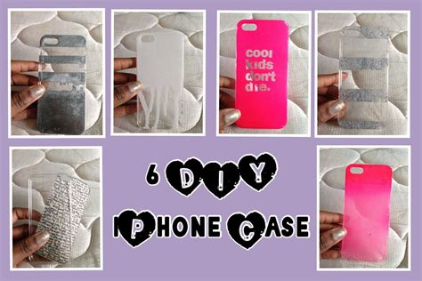 D I Y by Diy 6 Iphone Cases Youtube