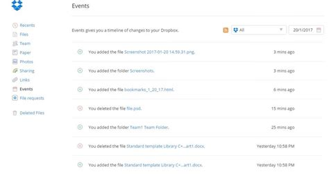 Dropbox Events | 15 tips to get more out of dropbox hongkiat