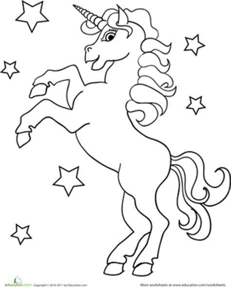 zoomer kitty coloring page unicorn worksheet education com