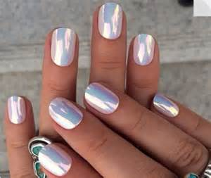 nail colors nails chrome nail with mirror powder lugo