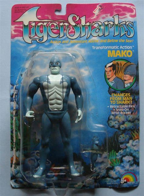 Figure Custom Tigersharks Mako Vintage Toys Mako From Ljn S Line Of Figures Based On The