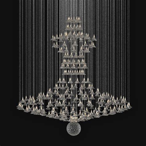custom made chandelier 3d model max obj 3ds fbx cgtrader