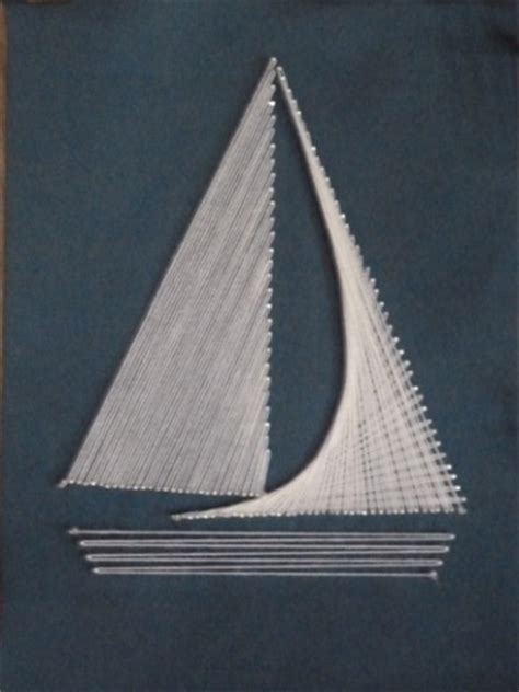 String Sailboat - exploring the arts