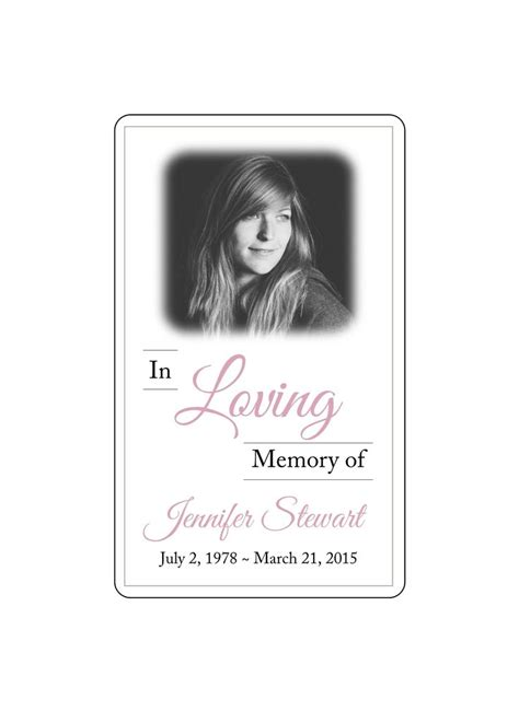 layoutinflater out of memory 13 best memorial card layouts images on pinterest