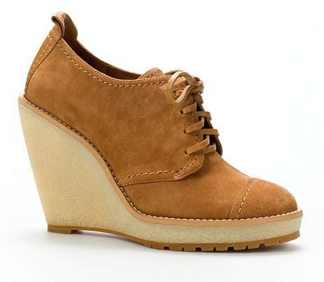 shoe wednesdays zara wedge ankle boot anya georgijevic
