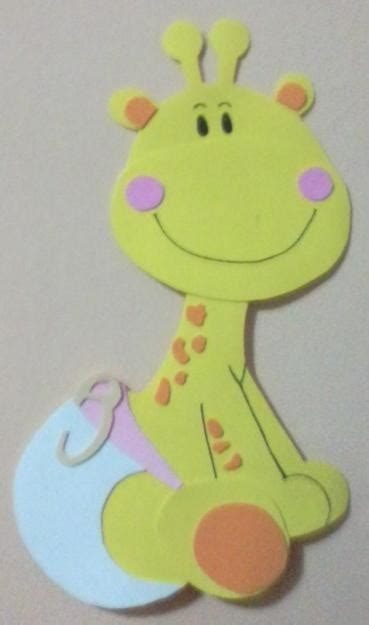 imagenes de jirafas en goma eva 25 b 228 sta jirafa bebe dibujo id 233 erna p 229 pinterest