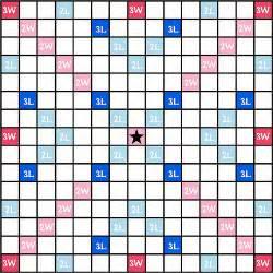 Blank Scrabble Board Template by 100 Scrabble Board Template Flickr Photo