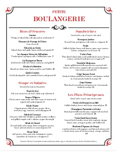 french restaurant menu templates musthavemenus
