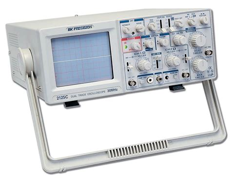 testing diodes with oscilloscopes model 2125c 30 mhz delayed sweep analog oscilloscope with probes b k precision