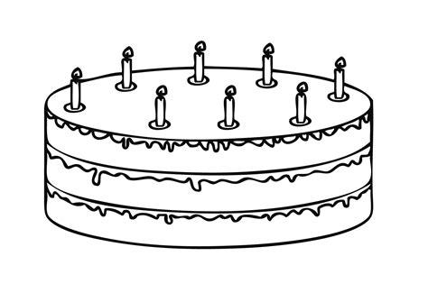 malvorlagen kuchen pin malvorlage kuchen on