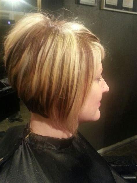 bad stacked bob haircut stacked short haircuts hair color and styles pinterest