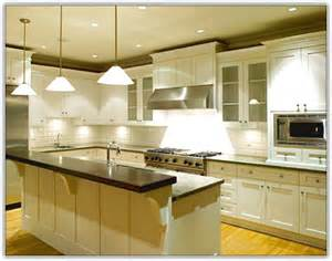Backsplash In The Kitchen houzz kitchen cabinets with glass home design ideas