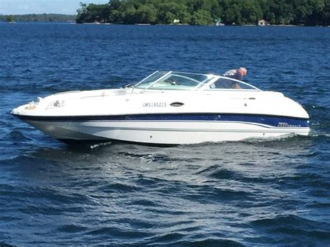 chaparral boats used ontario chaparral 233 sunesta 1999 used boat for sale in gananoque