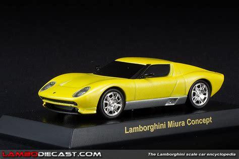 Lamborghini Miura Concept Price The 1 64 Lamborghini Miura Concept From Kyosho A Review
