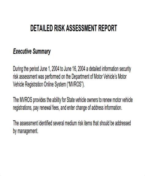 assessment report format 8 assessment report format sles sle templates