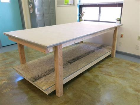 pattern drafting table diy cutting table sewing craft room pinterest