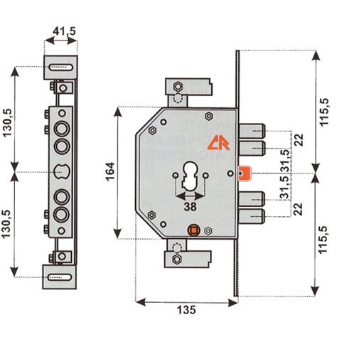 serratura per porta blindata serratura per porta blindata cr 2155pen cilindro