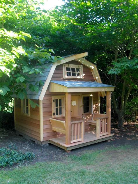 playhouse with wooden pallets stepbystep awesome design of cool playhouses for kids pleasing