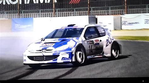 Gran Turismo 6 Auto Tuning by Gran Turismo 6 Drifting Avec Une Peugeot 206 Rally Youtube