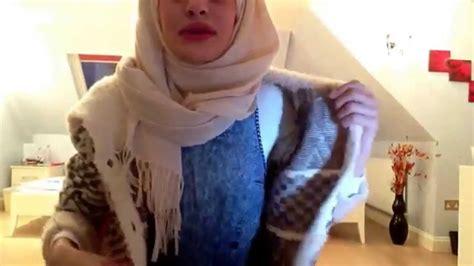 tutorial jilbab berkacamata cara memakai jilbab wanita berkacamata youtube
