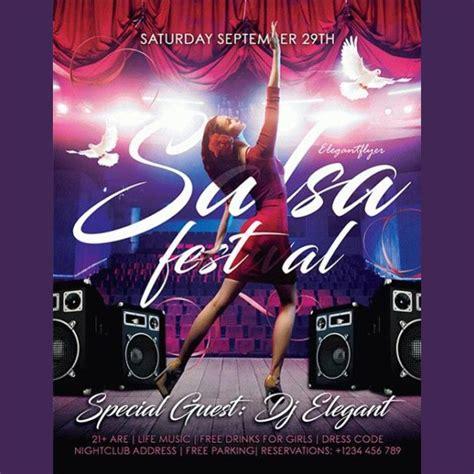 Salsa Flyer Template Free