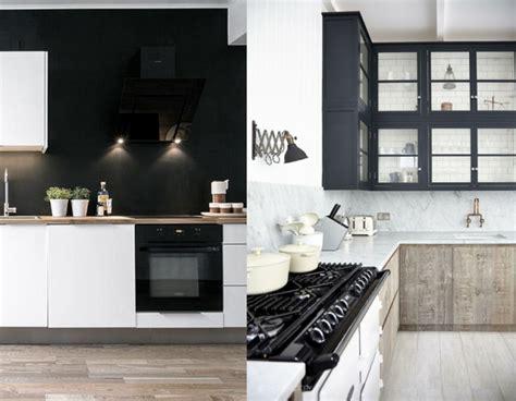 cuisine mur noir ophrey com cuisine blanche mur noir pr 233 l 232 vement d