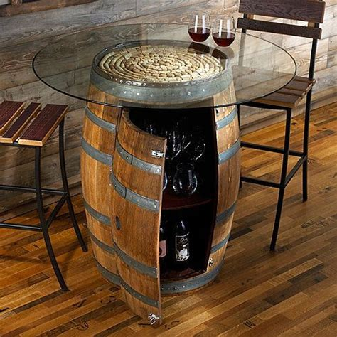 wine barrel pub table 1000 ideas about wine barrel table on whiskey