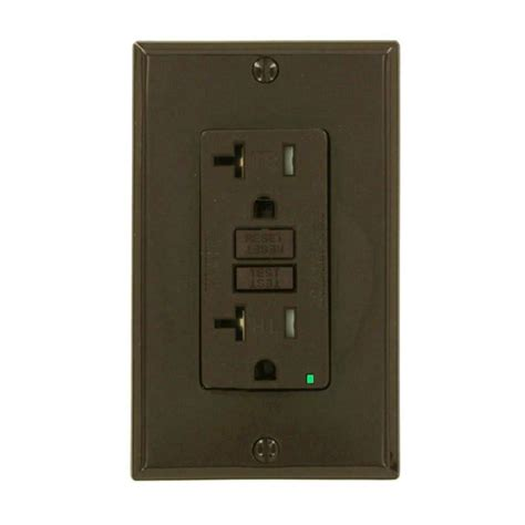 backyard outlet ge 20 amp backyard outlet with switch and gfi receptacle