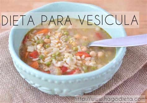alimentos para la vesicula dieta para vesicula