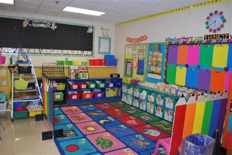 kindergarten topics themes love the use of color classroom decor pinterest