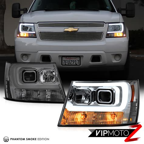2007 chevy avalanche tail lights 2007 2014 chevy suburban tahoe avalanche quot tron style quot led