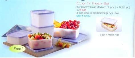 Cool N Fresh Set tupperware factsheet go green with tupperware