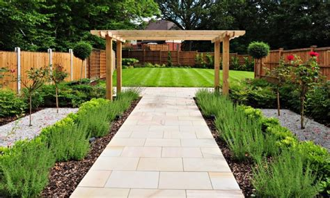 long slim garden ideas landscaping gardening ideas