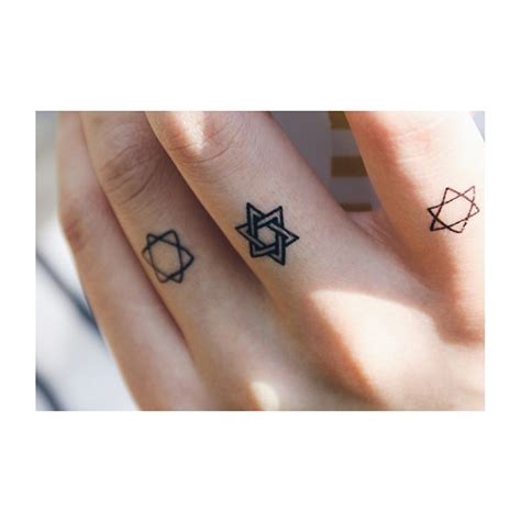 star of david tattoo best 25 ideas on of david