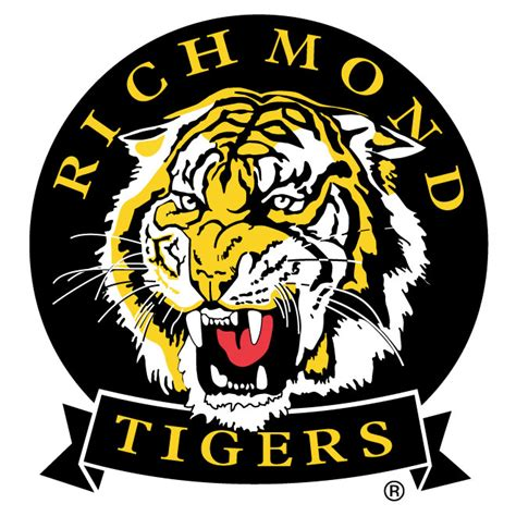 design logo new richmond wi richmond tigers vector logo download at vectorportal