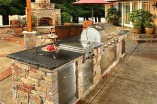bbq outdoor kitchen islands custom semi custom outdoor kitchens galaxy outdoor