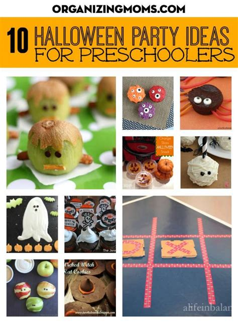 halloween themes for daycare halloween party ideas for preschoolers