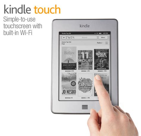 Use Gift Card For Kindle Purchase - kindle touch wi fi 6 quot e ink touch screen display amazon co uk kindle store
