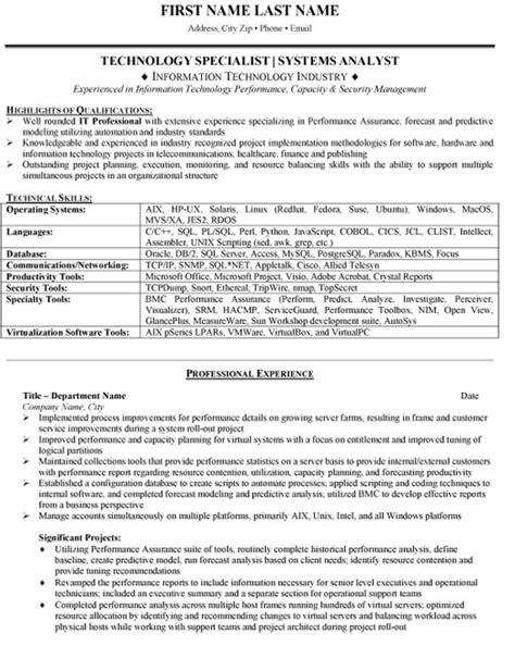gallery of information security analyst resume system business