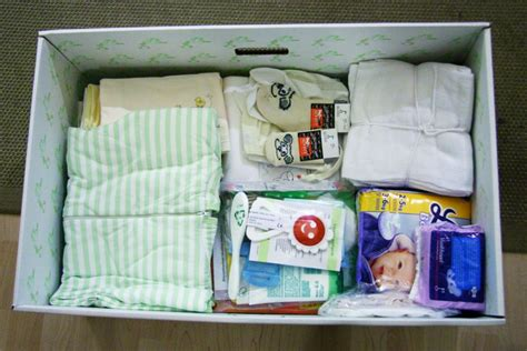 Finnish baby box maternity pack abc news australian broadcasting corporation