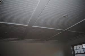 Drop Ceiling Planks Interior White Beadboard Ceiling Panels Combined With