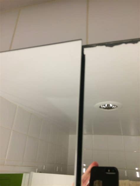 robern mp24d4fpn adjusting robern medicine cabinet with sagging mirror
