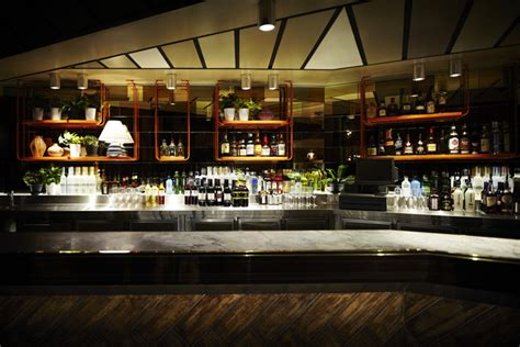 layout of bar in hotel beresford hotel by kerry phelan design office sydney
