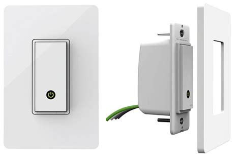 wemo double light switch now you can control your light switches with wemo