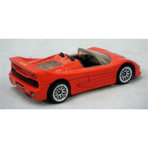 Ferrari F50 Convertible by Hot Wheels Ferrari F50 Convertible Global Diecast Direct