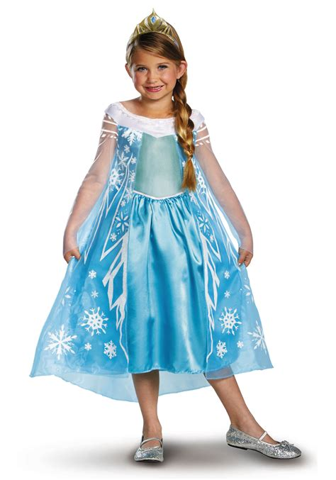 Princess Kostum Elsa Frozen elsa deluxe frozen costume