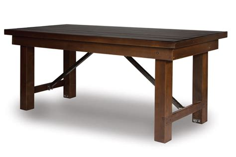 how wide is an 8 banquet table linenless tables misa