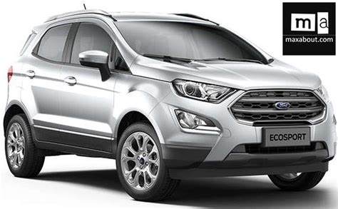 ford ecosport launched  india starting  inr  lakh