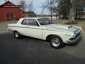 1963 dodge polara information and photos momentcar
